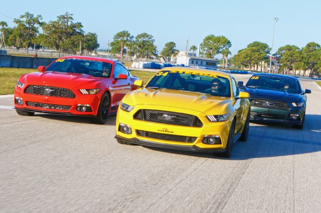 Track-Testing the 2015 Steeda Q650 Mustang at Sebring International Raceway