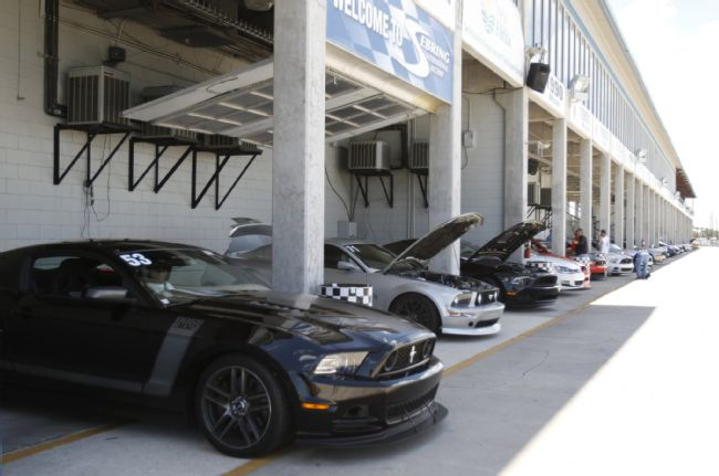 Stangs Storm Sebring International Raceway at the Track Guys Camp Steeda Driving Event Mustang Track Attack